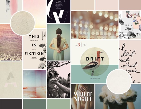 Moodboard Layout | ebb + flow