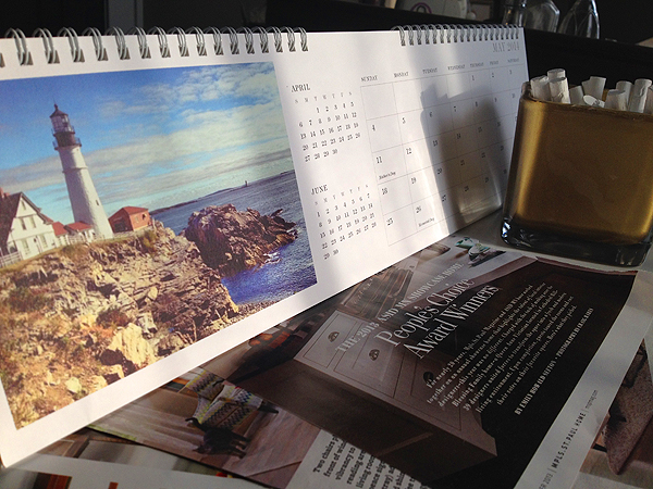 ebb & flow :: pinhole press calendar