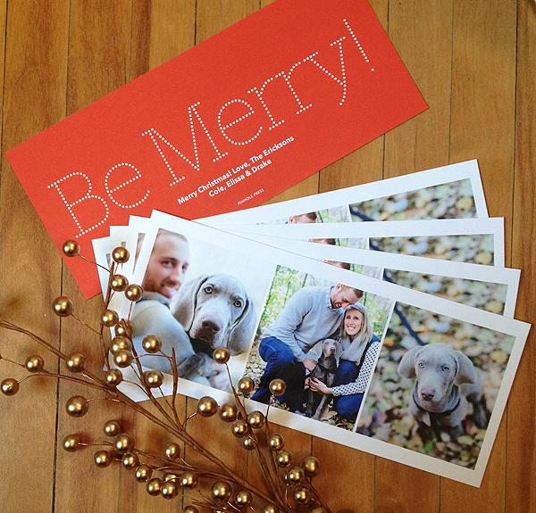 ebb & flow :: pinhole press christmas cards
