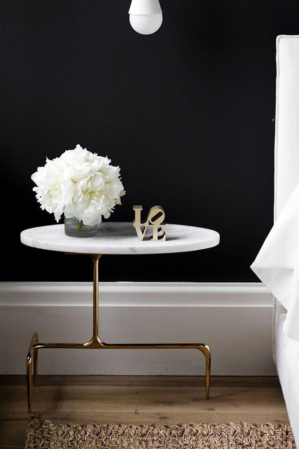 ebb + flow :: black, white + gold