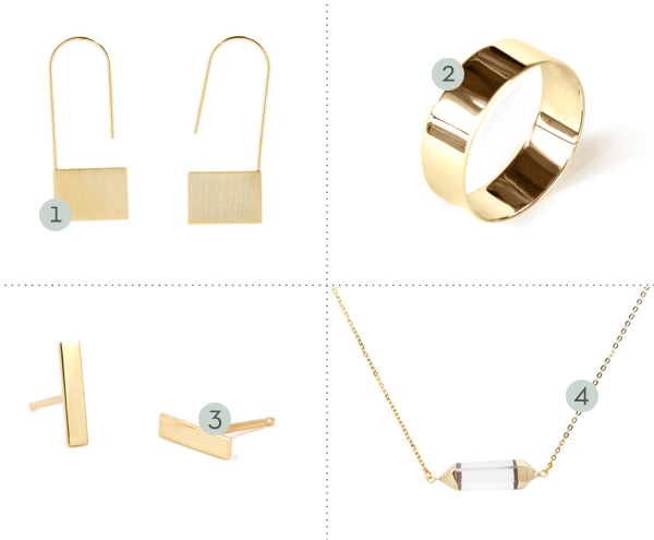 ebb + flow :: delicate jewelry picks
