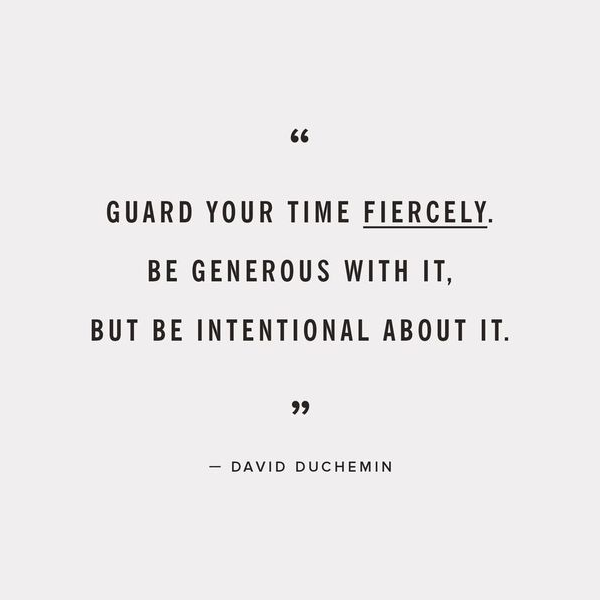 ebb + flow :: guard your time