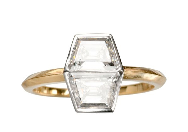 ebb + flow :: EB Double Trapezoid Ring